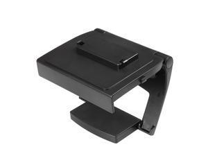 Xbox One TV Mounting Clip - Black Plastic Adjustable Sensor Camera TV Clip Monitor Mount Dock Holder Stand Bracket for Microsoft Xbox One Kinect 2.0