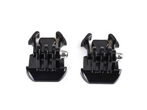 2x Black Buckle Basic Strap Mount For Gopro Hero 1/2/3 Camcorder