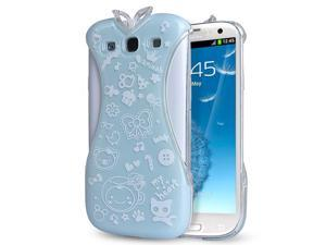 Samsung Galaxy S3 Case - Oriental Chinese Cheongsam Dress Design Hard PC Back Case Cover For Girls For Samsung Galaxy S3 SIII I9300 Green