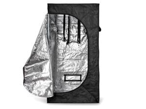 """Grow Tent 32""""x32""""x63"""" Reflective Mylar Hydroponics Non Toxic Hut Cabinet Room with Zipper and Window View For Indoor Plant Growing Gardening 32 x 32 x 63 Inch"""