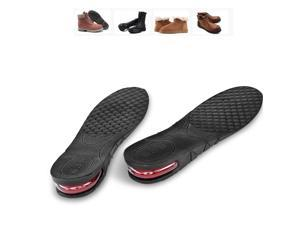 Unisex Increase Insole 1 Layer Height Heel Full Insert Lift Shoe Elevator Air Cushion Pad Taller 3cm Approximately 1.3 inches Taller for Men and Women Size USA 4.5-9