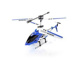 Syma S107/S107G 3.5 Channel 3CH R/C Helicopter with Gyro Romote Control Toys Metalic Frame Blue Toys For Indoor Easy to Fly Great for Biginners