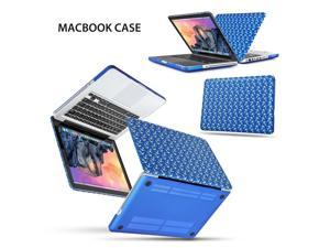 MacBook Pro 13 Case - Soft-Touch Plastic Matte Hard Shell Protective Case Cover Skin for Apple MacBook Pro 13 Inch A1278 Anchor Pattern