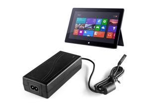 Surface Pro 2 Charger AC Power Supply Adapter Home Wall Travel Charging Cable Cord 12V 3.6A US Plug for Microsoft Surface Pro 2 Windows 8 Tablet 100-240V (Black)