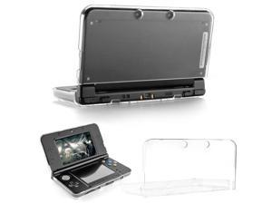 New 3DS XL Case - Ultra Clear Crystal Transparent Hard Shell Protective Case Cover Skin for New 2015 Nintendo 3DS XL LL