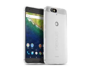 Nexus 6P Case (Clear) Premium Ultra Slim Fit Flexible Soft TPU Gel Protective Back Cover for Huawei Google Nexus 6P 5.7-Inch 2015 Smartphone