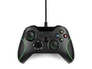 XBox One Controller - USB Wired Replacement Gamepad Compatible with XBox One and Windows PC - Joystick Joypad Supports Shock Vibration Feedback for PC Windows, Steam OS and Microsoft XBox One