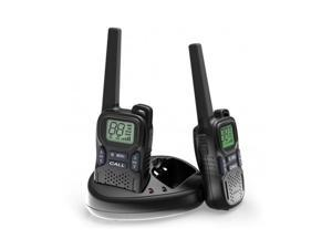 Handheld Walkie Talkie - 22 Channel GMRS/PMR/FRS 2 Way Radio Transceiver 2 Miles (Up to 3 Miles) Range UHF Call Wireless Phone Interphone Electronic Toy for Kids Outdoor Camping Hiking (1 Pair)