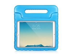 """iPad Pro Case - Kids Shock Proof Soft Light Weight Childproof Impact Drop Resistant Protective Stand Cover Case with Handle for Apple iPad Pro 9.7"""" (Blue)"""