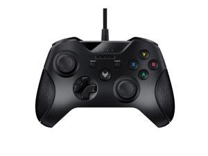USB Wired Gamepad Controller for PC & XBox 360 - Joystick Joypad Supports XInput Mode, Shock Vibration Feedback for PC Windows, Steam OS and Microsoft XBox 360