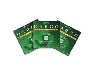 Darco D5400 12 String Ex Lt Acoustic Guitar Strings 3 Packs