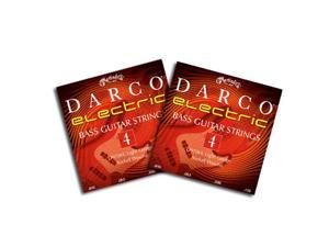 Darco Nickel Wound Light Electric Bass Guitar Strings D9700L 45-105 2 Packs
