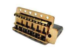 Genuine Fender Bridge assembly for Mexican Stratocaster - Gold