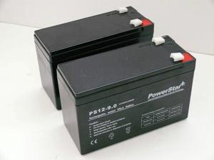 PowerStar Performance RAZOR E300, E325 REPLACEMENT BATTERY 12V 9AH - 2 Pack