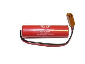Battery fits Toshiba ER6V ER6V/3.6V ER6V36VAA PLC w/ Plug DV0P2060 DV0P2990 by Titan