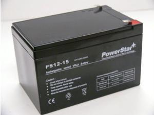 UPS Replacement Battery Pack for APC BE750BB, 12V 15Ah, APC RBC4 Cartridge #4