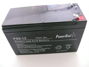 APC Back-UPS XS 1500 (BX1500BP) - Compatible Replacement Battery Kit, 12V 9Ah