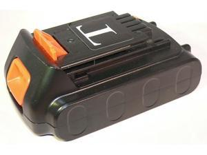 Replacement Li-ion Battery For Black & Decker LB20, LBX20, LBXR20 -