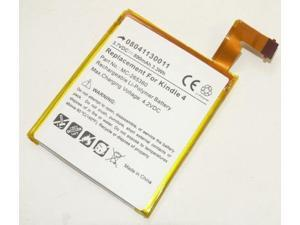 Replacement 890mAh MC-265360 515-1058-01 Battery for Amazon Kindle 4, 4G D01100