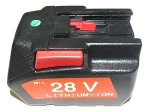 Replace Milwaukee 48-11-2830 M28 28V Battery Li-Ion 28Volt 84Wh 3.0Ah