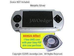 JAVOedge Skin Case for Sony PSP (Silver)