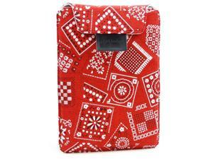 JAVOedge Bandana Flex Sleeve with Stand for Amazon Kindle Paperwhite (Red)