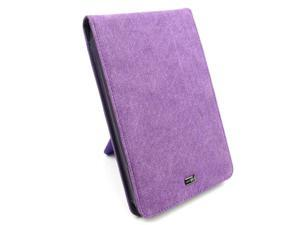 """JAVOedge Purple Fabric Flip Case with Stand for Amazon Kindle Fire 7"""" - First Generation"""