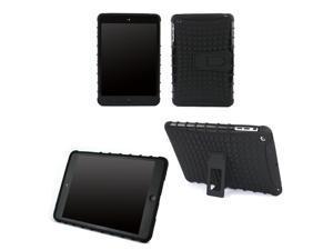 JAVOedge Black Active Armor Protective Case with Built In Kickstand for the Apple iPad Mini, iPad Mini 2 with Retina