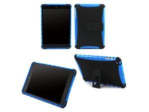 JAVOedge Blue Active Armor Protective Case with Built In Kickstand for the Apple iPad Mini, iPad Mini 2 with Retina