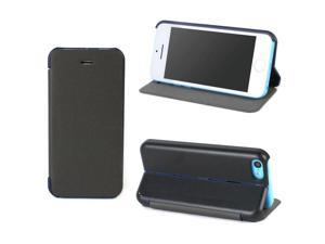 JAVOedge Slim Case with built in stand for the Apple iPhone 5C (Black)