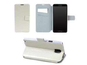 JAVOedge Pearl Flip Case for the Samsung Galaxy Note 3 (White)