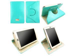 JAVOedge Bold Axis 360 Rotating Case with Sleep/Wake for the Google Nexus 7 (Turquoise) 2012 Model