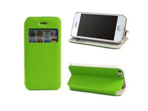 JAVOedge Slim Cover with Window for the Apple iPhone 5, iPhone 5s (Green)