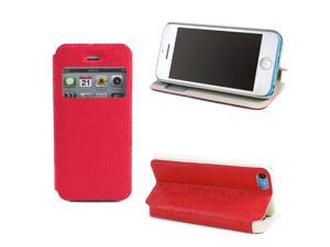JAVOedge Slim Cover with Window for the Apple iPhone 5C (Red)