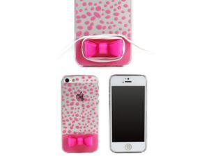 JAVOedge Ribbon Back Cover for the Apple iPhone 5 / 5S (Pink)