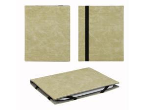 """JAVOedge Rugged Vintage 6"""" Universal eReader Book Case for the Nook Touch, Glowlight, Kobo Glo, Touch, Kindle (Beige)"""