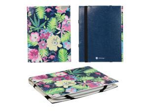 "JAVOedge Flower Garden 6"" Universal eReader Book Case for the Nook Touch, Glowlight, Kobo Glo, Touch, Kindle"