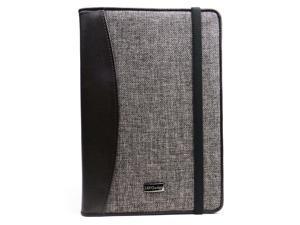 JAVOedge Tweed Folio Case with Sleep / Wake for the Amazon Kindle Fire HD 8.9 (Brown)