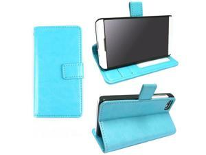 JAVOedge Slim Book Case for the BlackBerry Z10 (Turquoise)