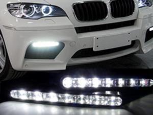 Euro Style 7 LED DRL Daytime Running Light Kit For NISSAN Gazelle