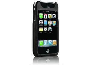 Case-Mate Signature 2nd Gen Leather Case for iPhone 3 3G 3GS - Phantom Black