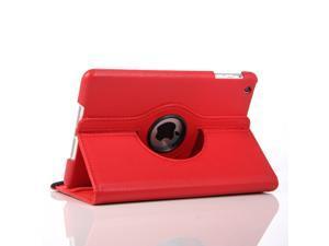 Apple iPad Mini Leather 360° Rotating Leather Folio Case - Red