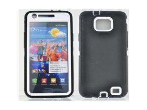 Samsung Galaxy S2 SII i9100 - 3 Layer Protective Hardshell Hybrid Case