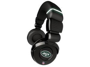 iHip NFH26-NYJ NFL Officially-Licensed On-Ear Headphones (New York Jets)