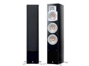 NS-555 3-Way Bass Reflex Floor Standing Speaker (Black)