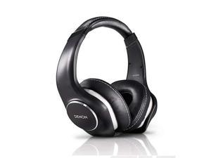 Denon AH-D340 Music Maniac On-Ear Headphones (Black)