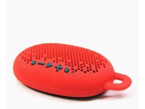 Boom Urchin Ready 4 Anything Bluetooth Speaker, Water Resistant, Shower Speaker - Red