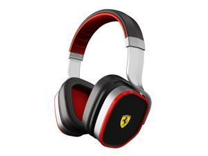 Ferrari by Logic3 R300S Active Noise-Canceling Scuderia Collection Headphones-Silver