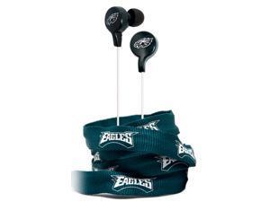 iHip NFE52-PHE NFL Noise Isolating Shoelace Earphones (Philadelphia Eagles)
