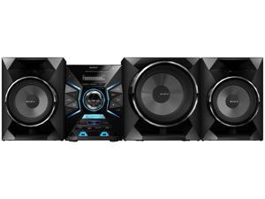 Sony LBT-GPX55 1600 Watt Bluetooth Mini Hi-Fi System (Black)